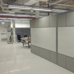 Whiteboard wall freestanding configuration - Flex Series