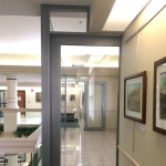 Double sliding door installation Flex series