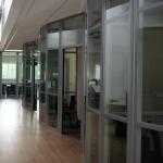 Flex Series Radius Corners Higher Education Glass Fronts