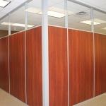 Flex office walls glass clerestory