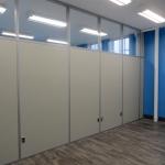Flex series walls in a University classroom application