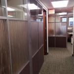Flex series with 3form custom wall panels - University installation