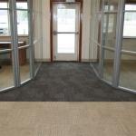 Radiused glass office walls - Flex series