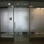 Single pane glass office - Flex series