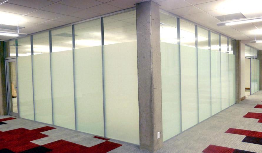 University full height glass walls - Flex Series by NxtWall