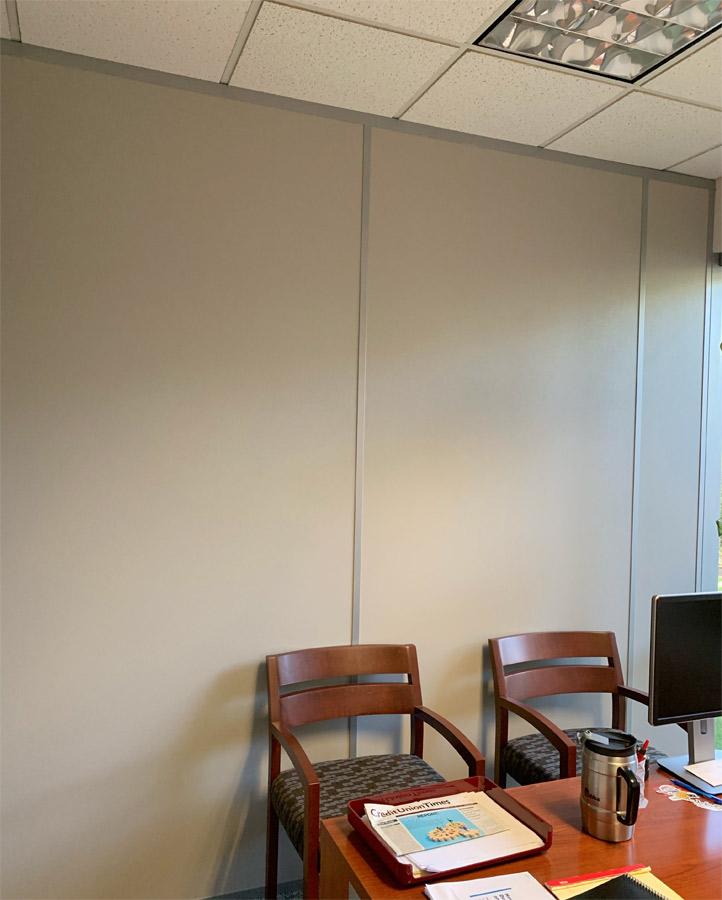 vinyl-clad gypsum wall panels
