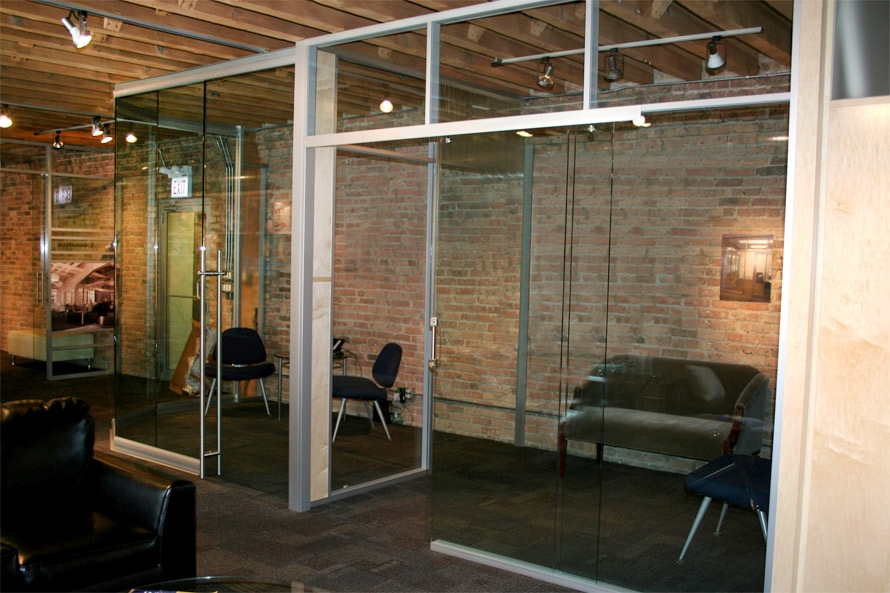 Glass pocket door - NxtWall glass office wall systems & Door Types (Single Double Solid Glass Swing Aluminum Frame and ...
