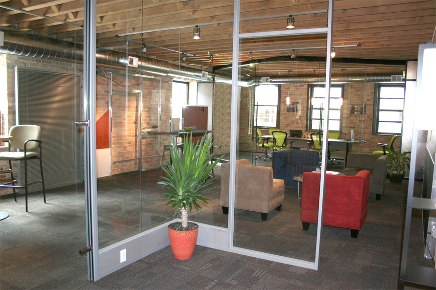 NxtWall glass office walls with power & Door Types (Single Double Solid Glass Swing Aluminum Frame and ...