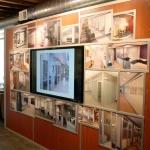 Flex series tv and media wall