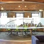 Nxtwall Chicago showroom View series conference room