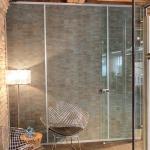 Petina finish cork wall board panels