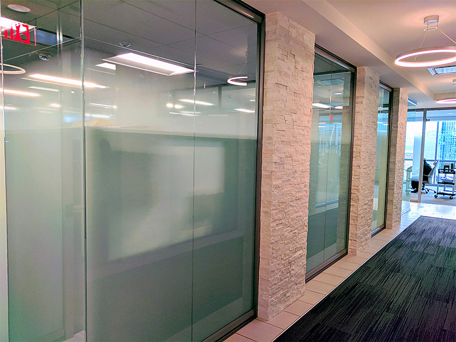 Full height glass demountable walls - View Series
