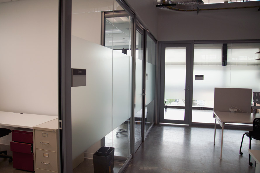 NxtWall Glass Fronts, Glass Wall Panels, and Glass Butt Joint Image