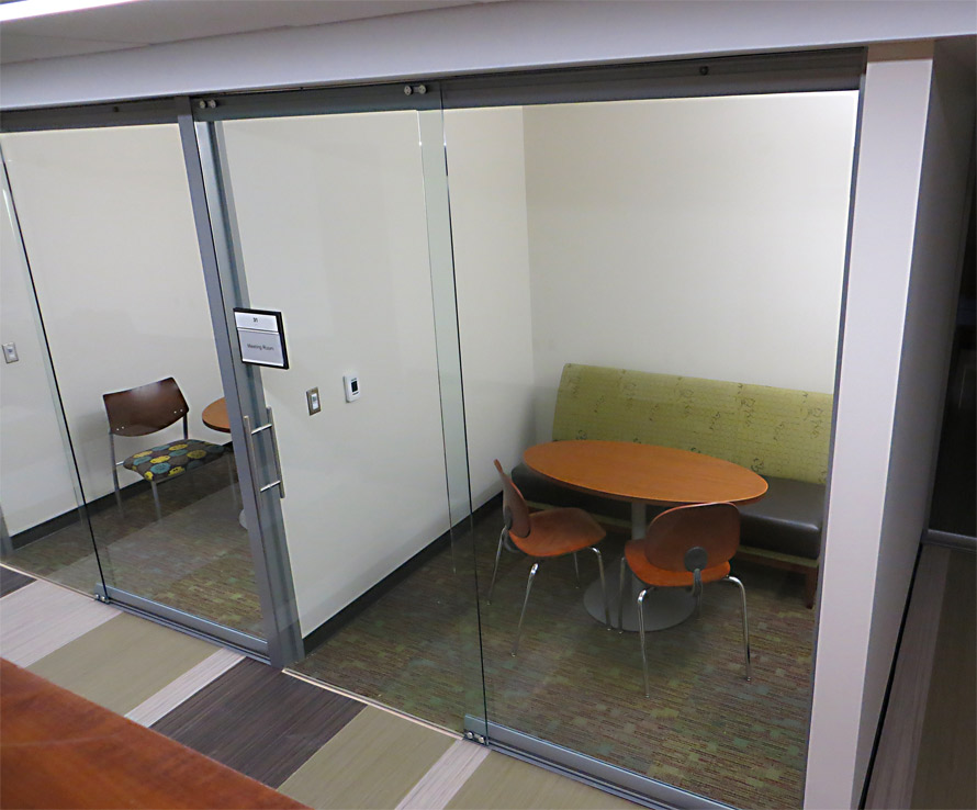 Higher education nxtwall architectural wall systems for Full wall sliding glass doors