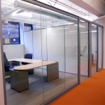CBRE Glass Office Panels