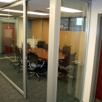 FNB Bank Glass Conference Room
