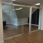 Freestanding Glass Conference Room Demountable Walls