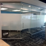 Glass walls Conference room (trapezoid shape) - View Series