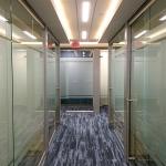 View series glass offices locking metal barpulls