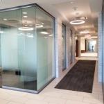 View Series modern glass walls