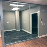 full height glass walls - View Series