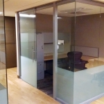 NxtWall glass wall offices - University installation