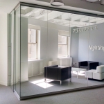 View Series glass display showroom in Chicago