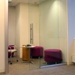 View series sliding glass door office front