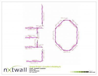 NxtWall Original Project Plan Drawing - 2015