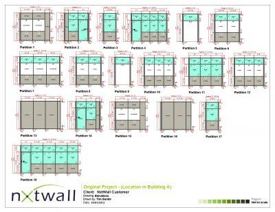 NxtWall Original Project Elevations - 2015