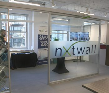 2018 NeoCon NxtWall Architectural Walls Booth - Exterior