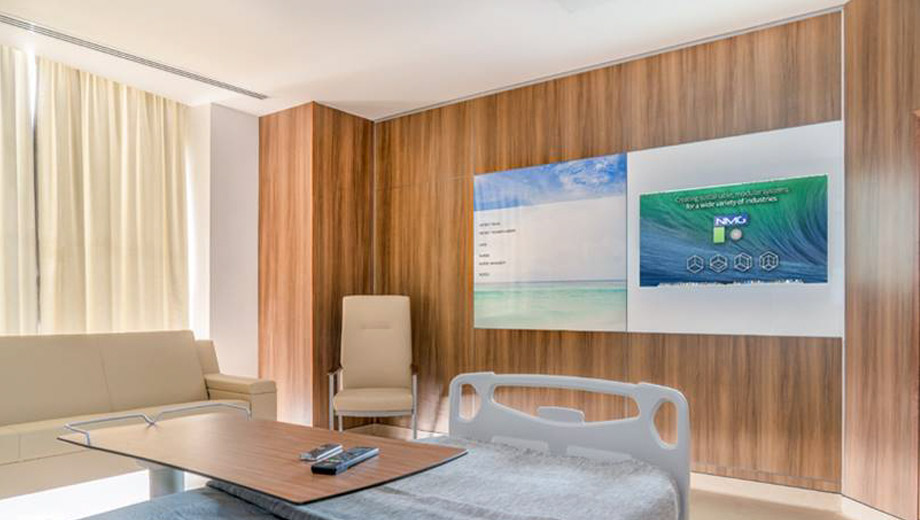 Ven4ma Durable Realistic Wood Laminate Demountable Wall Panel